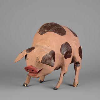 New Mexico, Folk Art Pig, ca. 1990