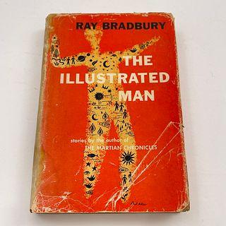 Signed Ray Bradbury Illustrated Man Book