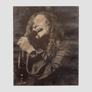Monterey Pop Robert Altman Signed Janice Joplin Poster