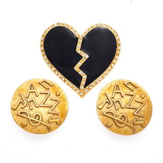 Collection of Yves Saint Laurent Jewelry