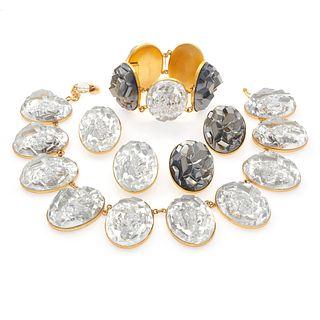 Vintage Yves Saint Laurent Jewelry Suite