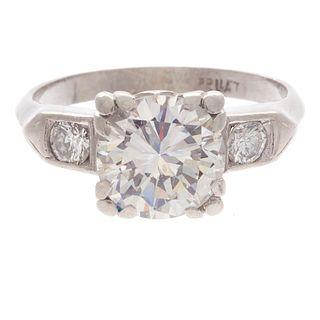 Diamond, Platinum Ring