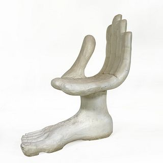 Contemporary Hand Chair after Pedro Friedeberg