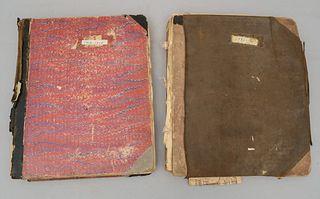 Lot of 2 Old Theatre Scrapbooks