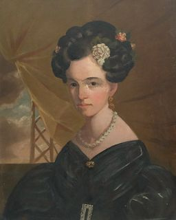 American School, Bust Portrait of a Young Woman