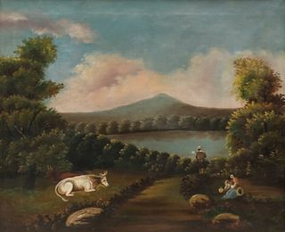 English School, Early Landscape Painting