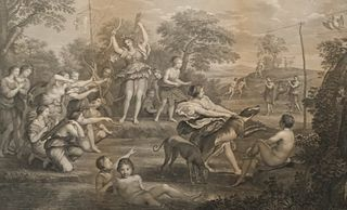 After Domenichino, 18th Century Engraving