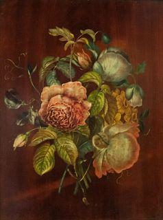 Lagarde Jeune Binnet, Trompe L'Oeil Flowers