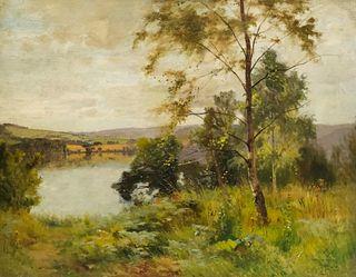 Ernest Parton, River Landscape