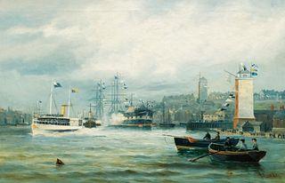 John Davison Liddell, Harbour Scenery