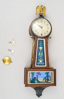 New Haven Clock with Eagle Finial