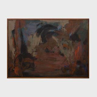 Murray Hantman (1904-1999) : Untitled