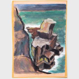 Murray Hantman (1904-1999): Rockbound; Pulpit Rock; and Untitled: Two Works