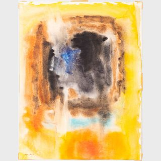 Murray Hantman (1904-1999): Abstraction: Two Works; and Untitled: Two Works