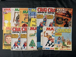 Humor Magazines Lot, MAD & Others