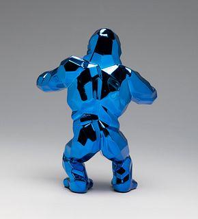 "RICHARD ORLINSKI (Paris, 1966).""Kong Spirit,"" Blue Edition, 2018.Resin.In original box."