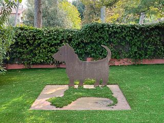"""JOSÉ LUIS PASCUAL SAMARANCH (Barcelona, 1947). """"Picassin"""" 2004. Corten steel."""