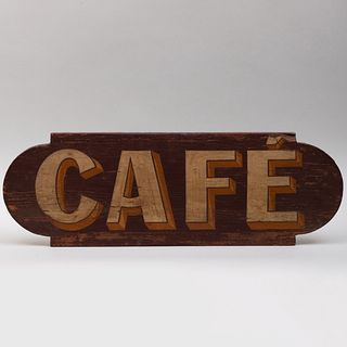 American Painted Café Trade Sign