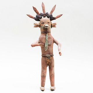 Acoma Painted Kachina Doll