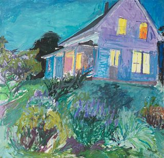 """Henry Finkelstein - """"House Lit Up at Night"""""""