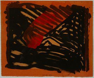 """Howard Hodgkin - """"Red Eye"""" 1981"""