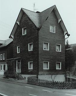 """Bernd/Hilla Becher - """"Niederschelderhuette, Westerwald, Germany"""" 1989"""