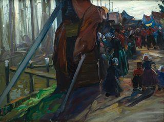 """Charles H. Woodbury - """"Dutch Fair"""" c. 1890"""