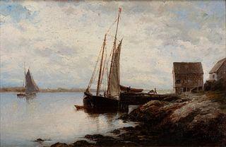 Hendricks A. Hallett - Ship in Port, 1880