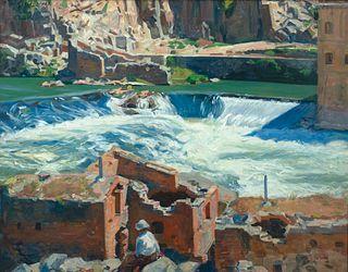 Aiden Lassell Ripley - Cataracts-Toledo, 1925