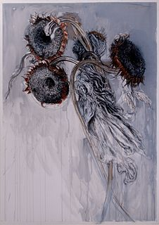 """Jimmy Wright - """"Sunflowers No. 1"""" 1994"""