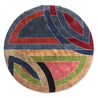 Frank Stella for Modern Masters wool carpet