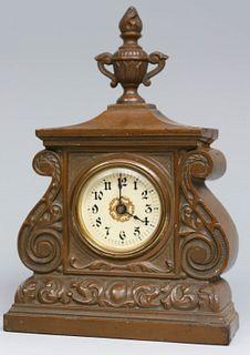 Cast Iron Desk Clock