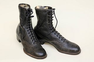 Early Leather Boots