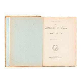 García Pimentel, Luis. Descripción del Arzobispado de México Hecha en 1570 y Otros Documentos. México, 1897.