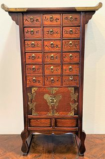 Chinese Apothecary Cabinet Multidrawer