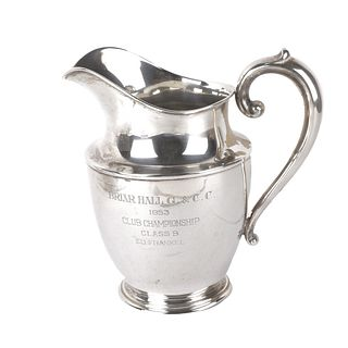 Wallace Silver Pitcher