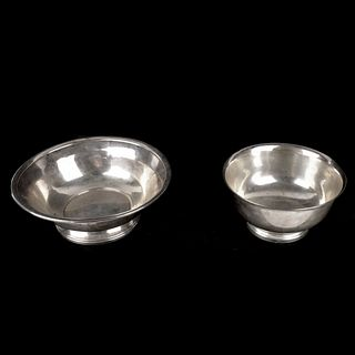 Two Sterling Bowls