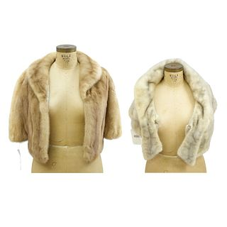 Two Mink Capes