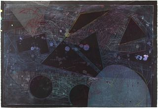 "Sam Gilliam - ""Chehaw"" 1990"