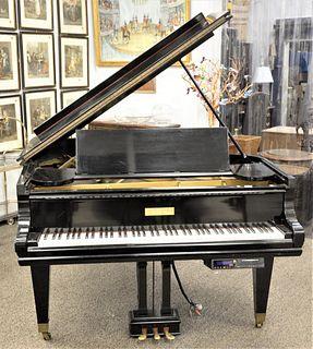 Mason and Hamlin Baby Grand Player Piano, serial number A32971.