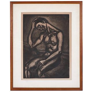Georges Rouault, etching and aquatint