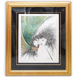 Hisashi Otsuka (Japanese, b.1947) 'Royal Kiss' Lithograph