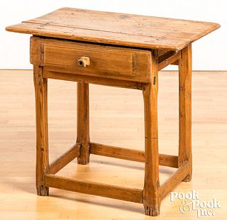Scandinavian pine work table, 19th c.