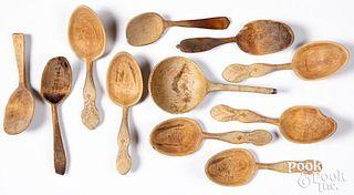 Scandinavian wedding spoons and scoops.