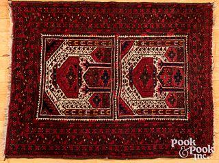 Semi antique Turkoman mat