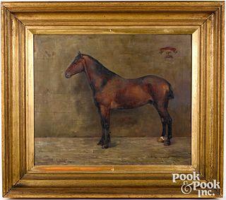 Philip Eustace Stretton horse portrait