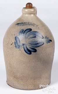Pennsylvania stoneware jug, 19th c.
