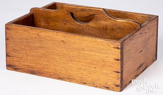Butternut tool carrier, late 19th c.