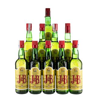 J & B. Rare. Blended. Scotch whisky. Piezas: 10. En presentaciones de 750 ml.