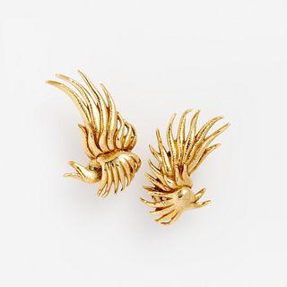 Tiffany & Co Schlumberger 18k Earrings